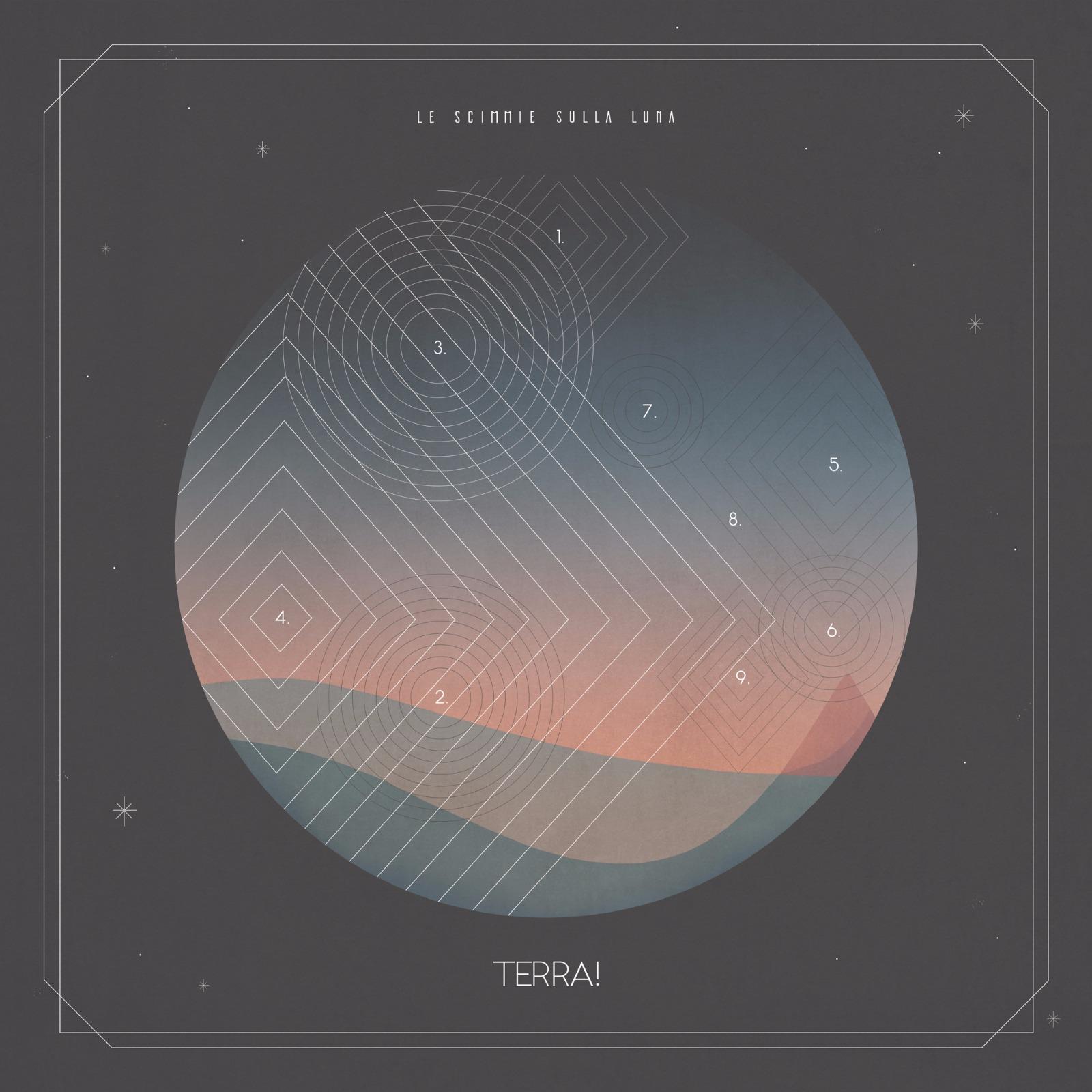 Acquista TERRA!, il nuovo album de LE SCIMMIE SULLA LUNA